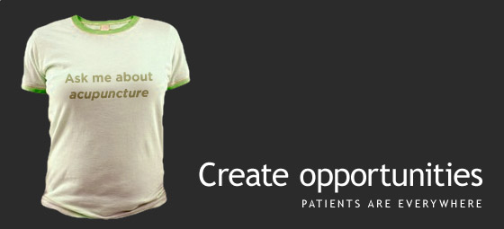 Guerrilla Acupuncture Marketing T-Shirt