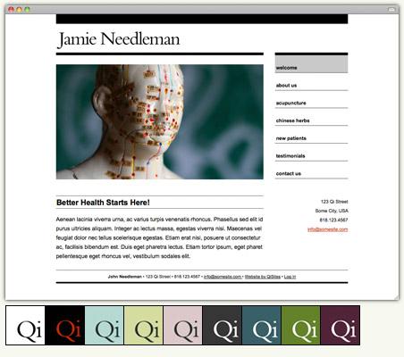 The Best Acupuncture Websites are Simple | Acupuncture Blog | QiSites